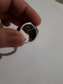 Кольцо с крестом.