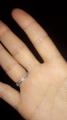 Кольцо серебряный.