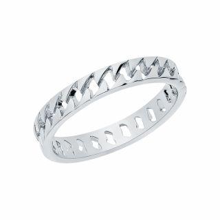 Серебряное кольцо: белое серебро 925 пробы — купить в интернет-магазине SUNLIGHT, фото, артикул 168115