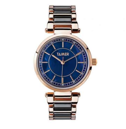 abb38be946ec Стальные часы TAMER Часы женские