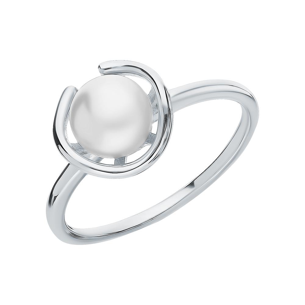 Фото «Серебряное кольцо с жемчугами культивированными»