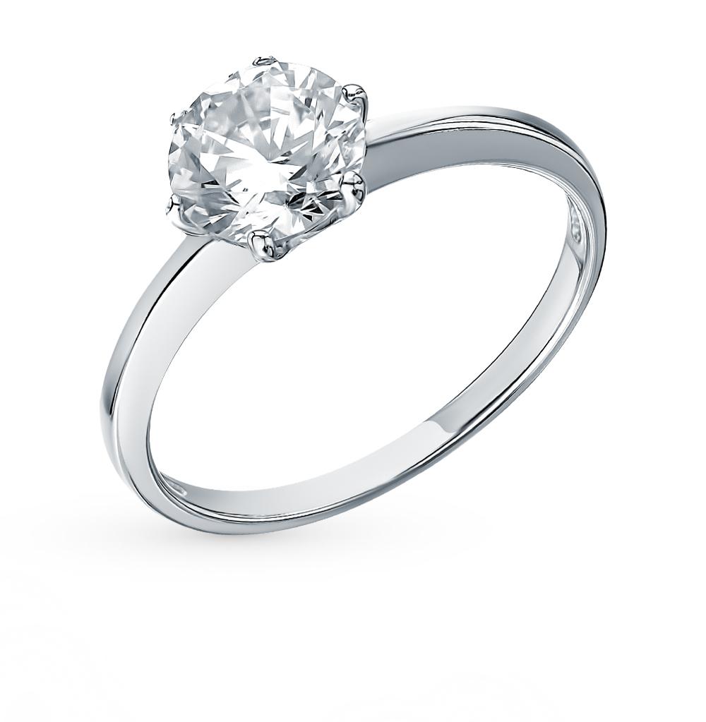 золотое кольцо с фианитами SOKOLOV 016788-3*