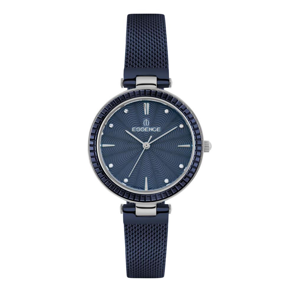 Фото «Женские  кварцевые часы ES6501FE.390 на стальном браслете с минеральным стеклом»