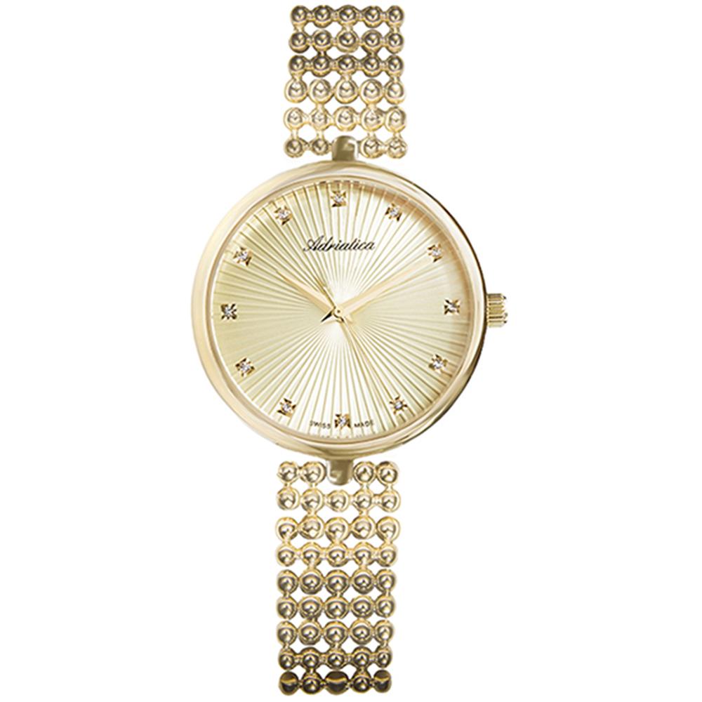 Фото «Женские часы A3731.1141Q на стальном браслете с PVD покрытием с минеральным стеклом»