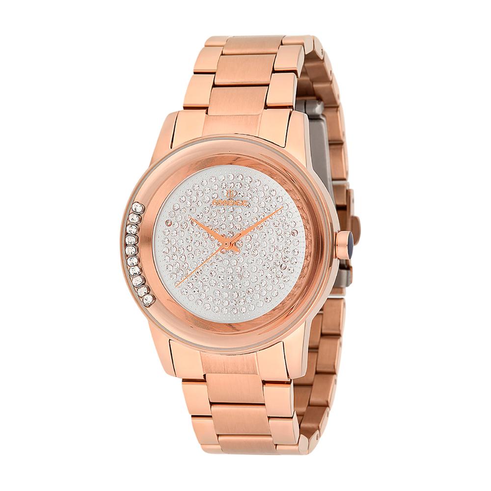 Женские часы ES6385FE.430 на стальном браслете с розовым PVD покрытием с минеральным стеклом в Санкт-Петербурге