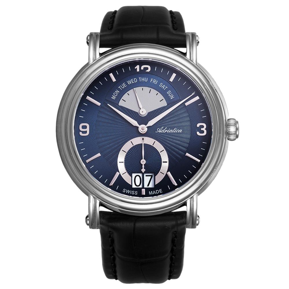 Фото «Мужские часы A1194.5255QF на кожаном ремешке с сапфировым стеклом»