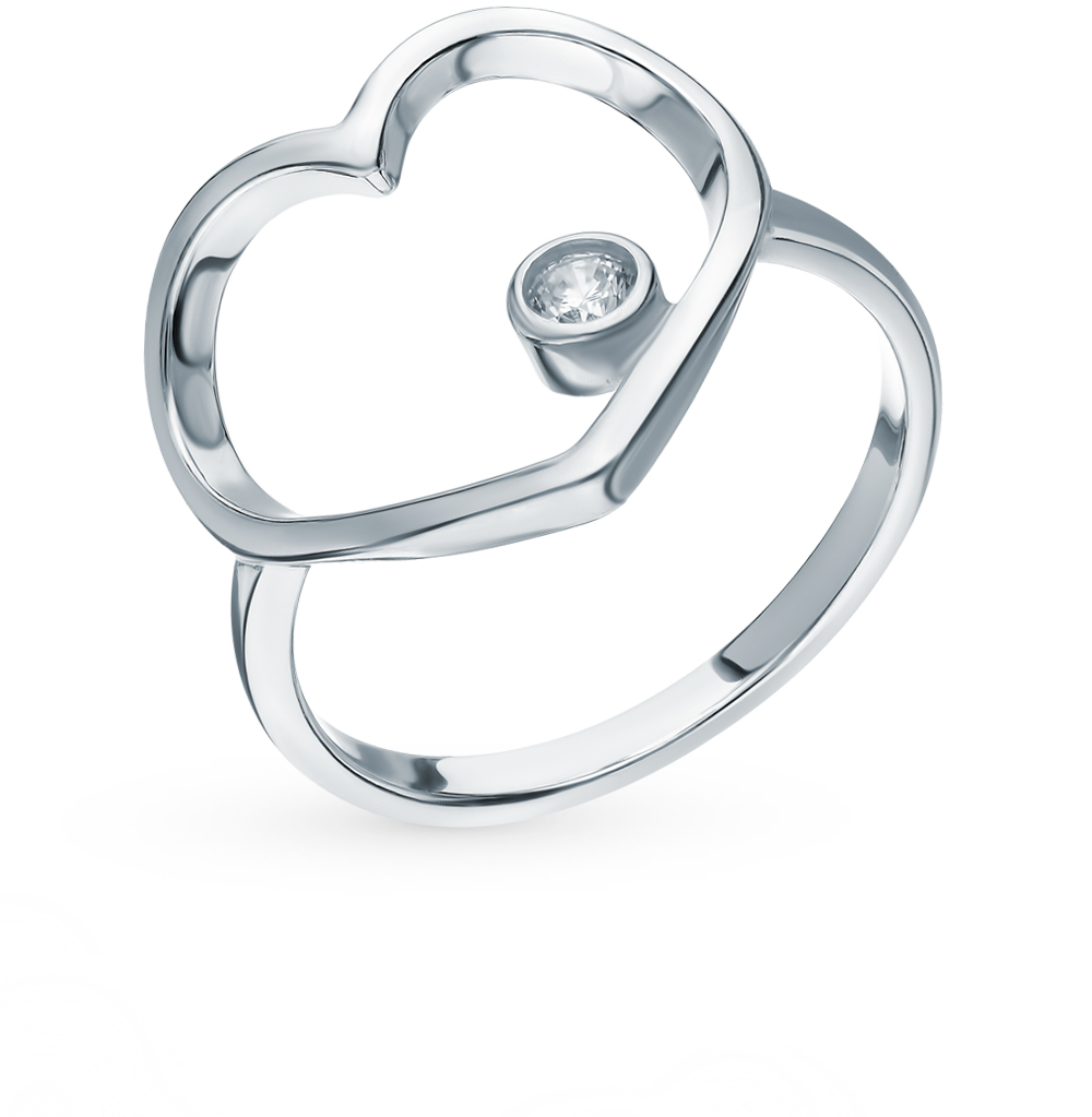 Серебряное кольцо с фианитами SOKOLOV 94012790 в Екатеринбурге