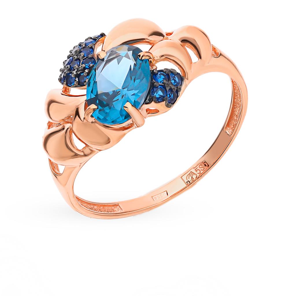Фото «Золотое кольцо со шпинелью»