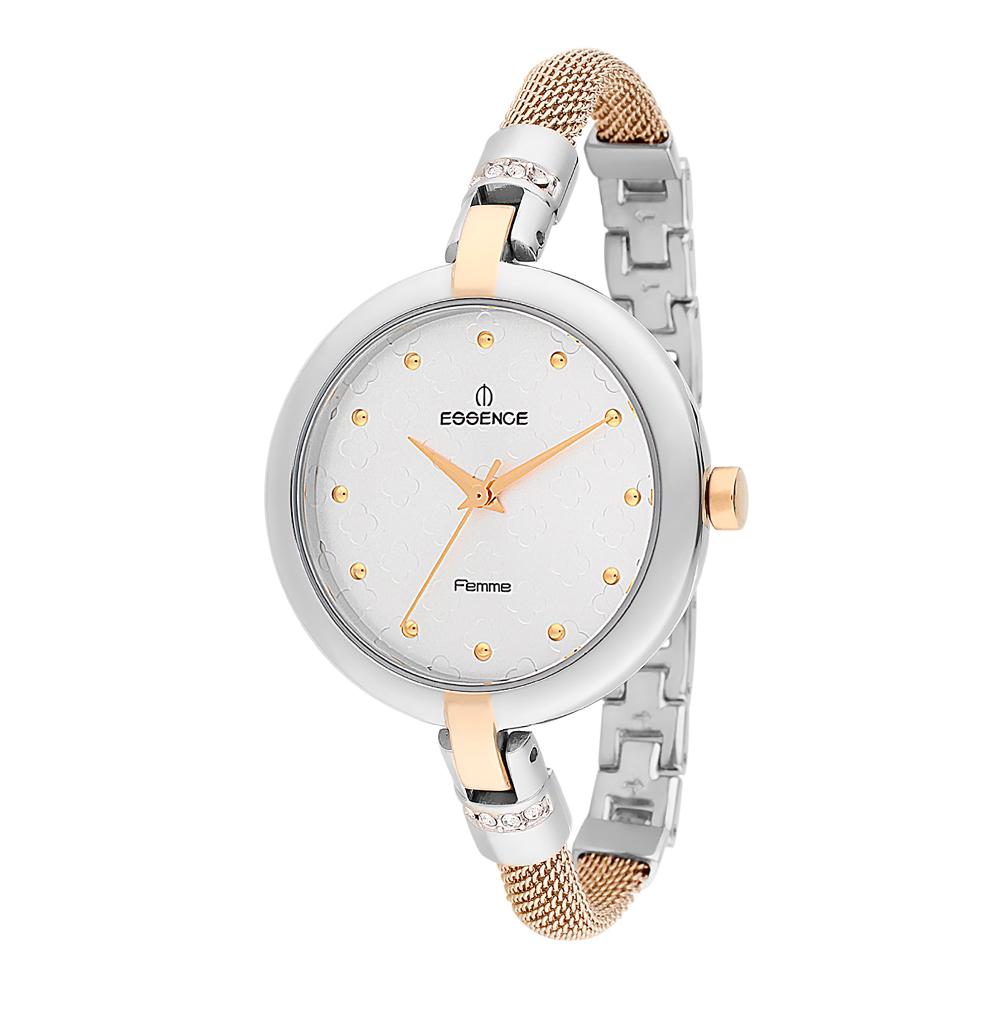 Женские часы D880.230 на стальном браслете с частичным PVD покрытием с минеральным стеклом