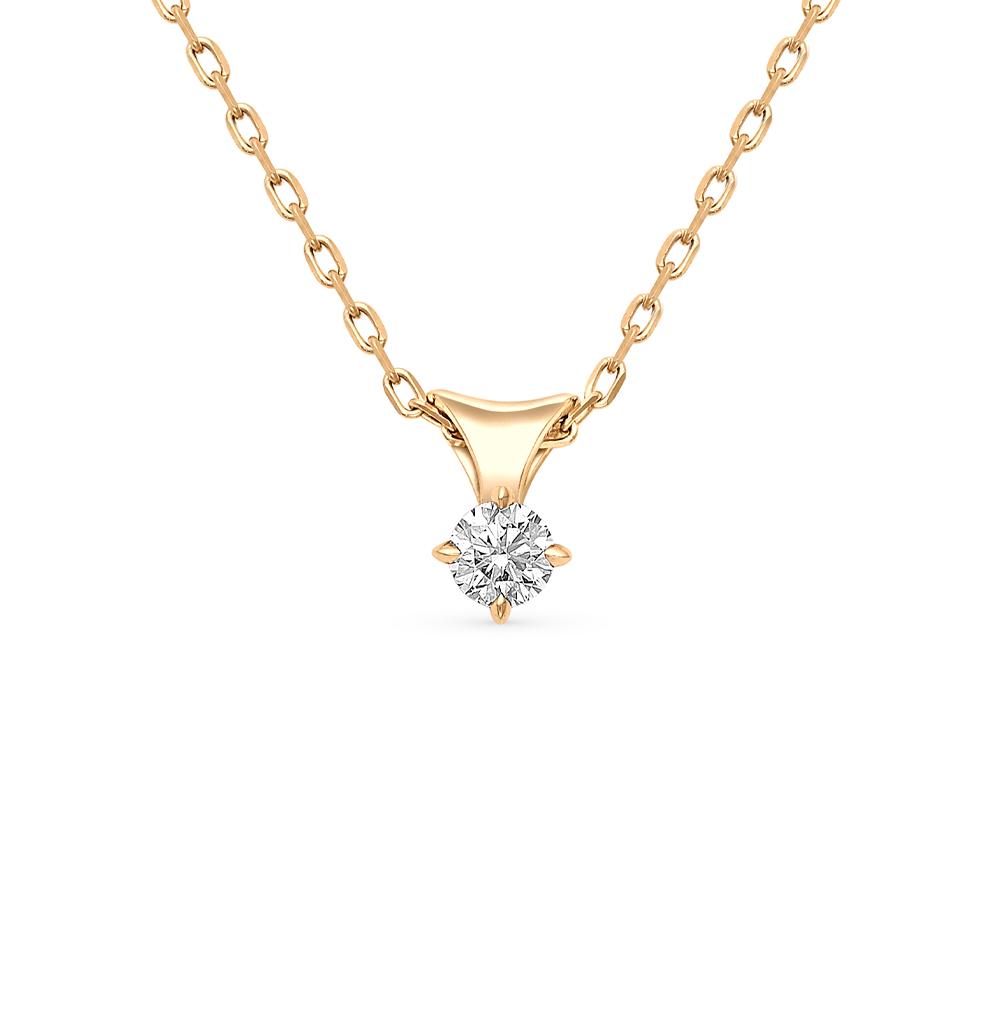 Золотое колье с бриллиантами в Екатеринбурге