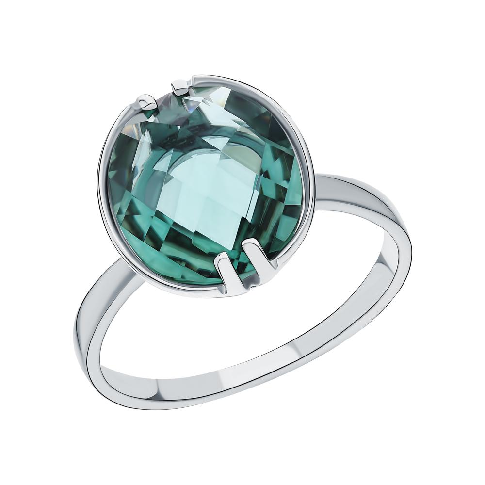 Фото «Серебряное кольцо с празиолит»