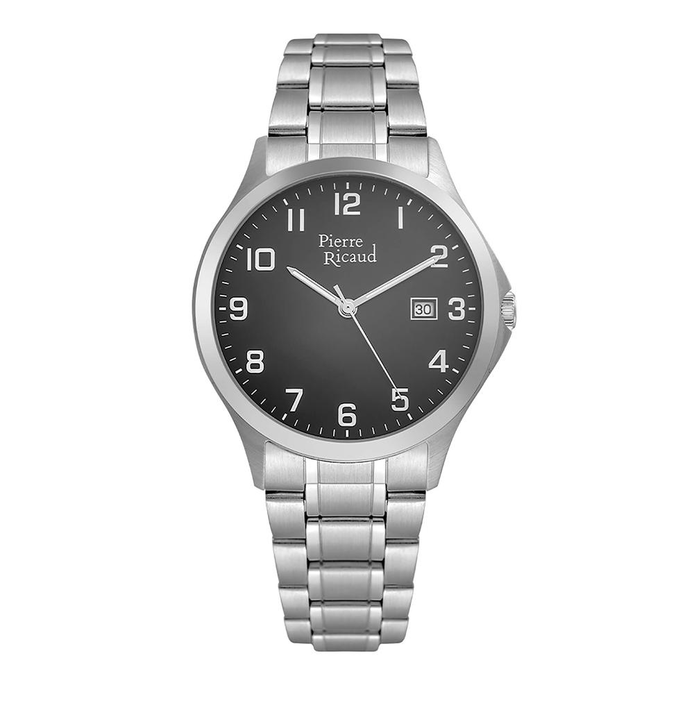 Фото «Мужские кварцевые часы P91096.5126Q на стальном браслете с минеральным стеклом»