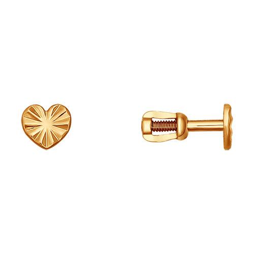 Золотые серьги SOKOLOV 022575* в Екатеринбурге