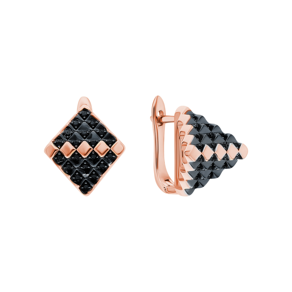 Фото «Серебряные серьги с нанокристаллами»