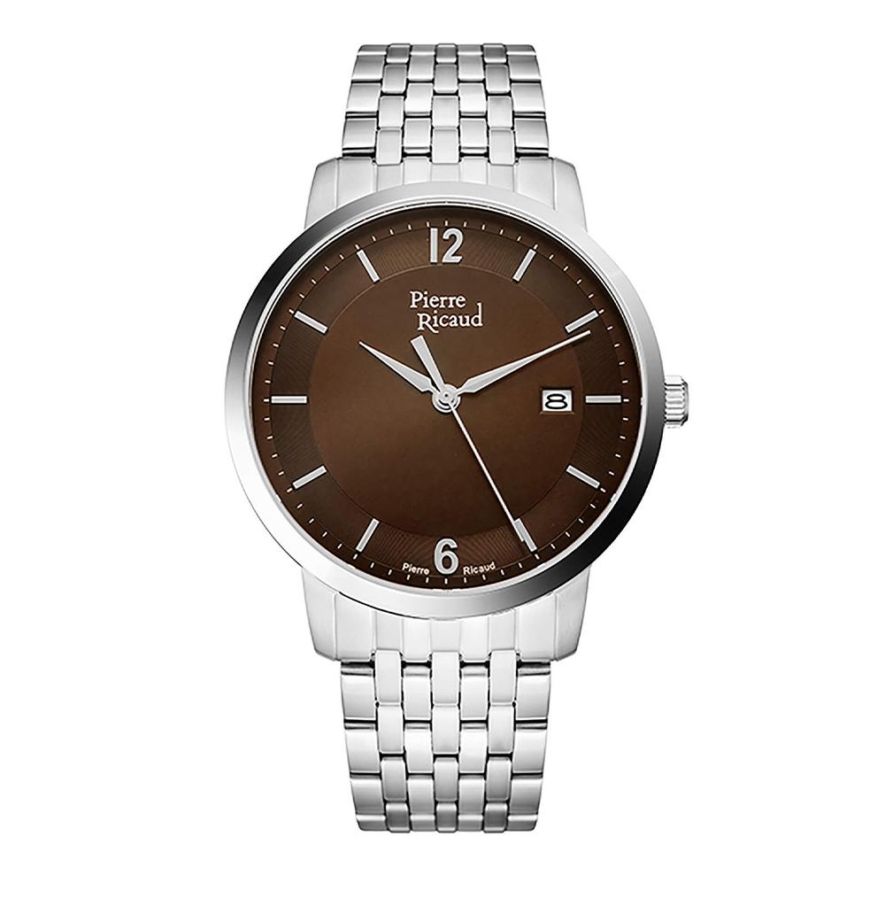 Мужские кварцевые часы P97247.515GQ на стальном браслете с сапфировым стеклом в Екатеринбурге