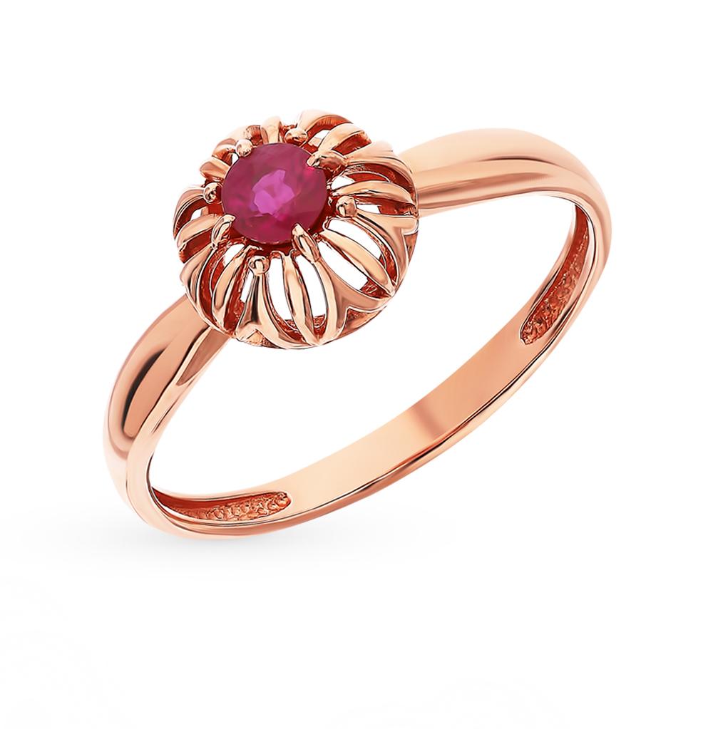 Золотое кольцо с рубинами в Екатеринбурге