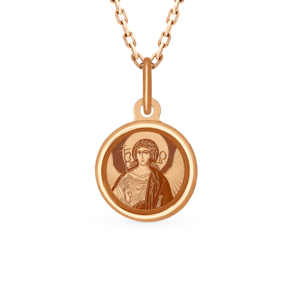золотая подвеска с эмалью SOKOLOV 103992*