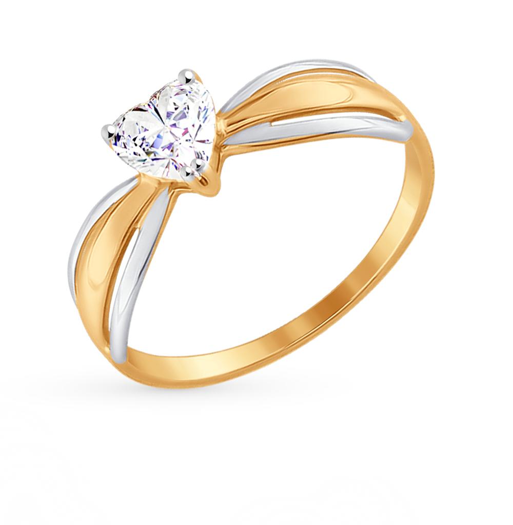Золотое кольцо с фианитами SOKOLOV 81010298* в Екатеринбурге