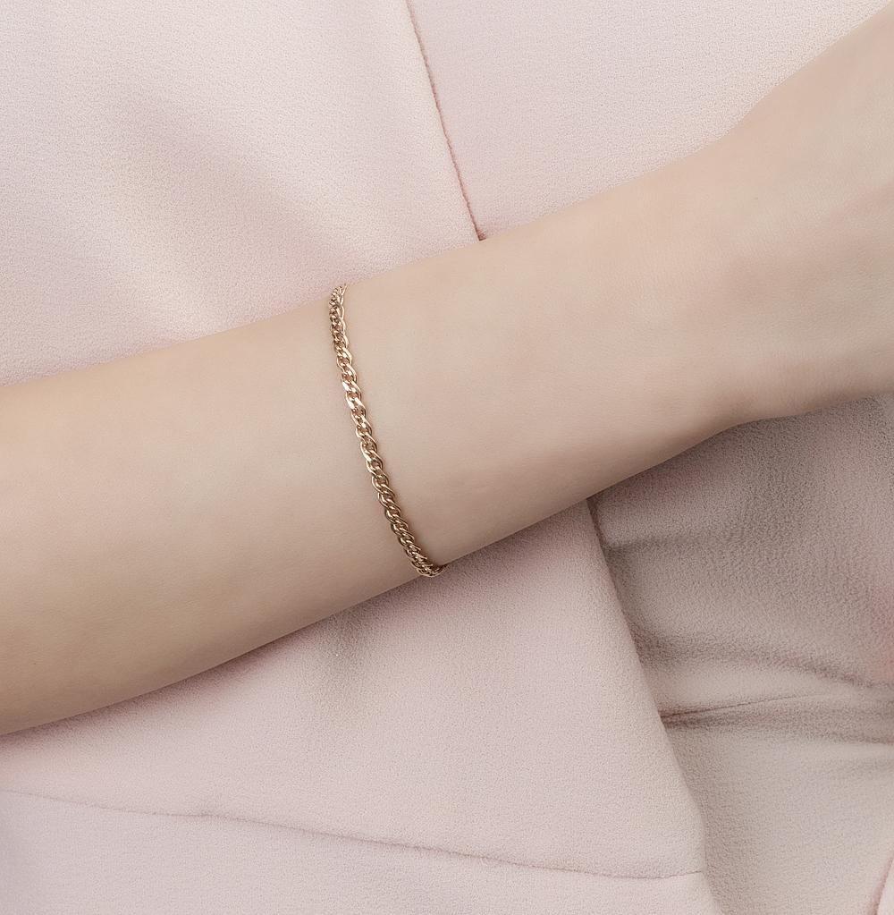 Золотой браслет ЮВЕЛИРНЫЙ ЗАВОД СПБ 41-01-0060-30200   красное и ... b360da0c6f2