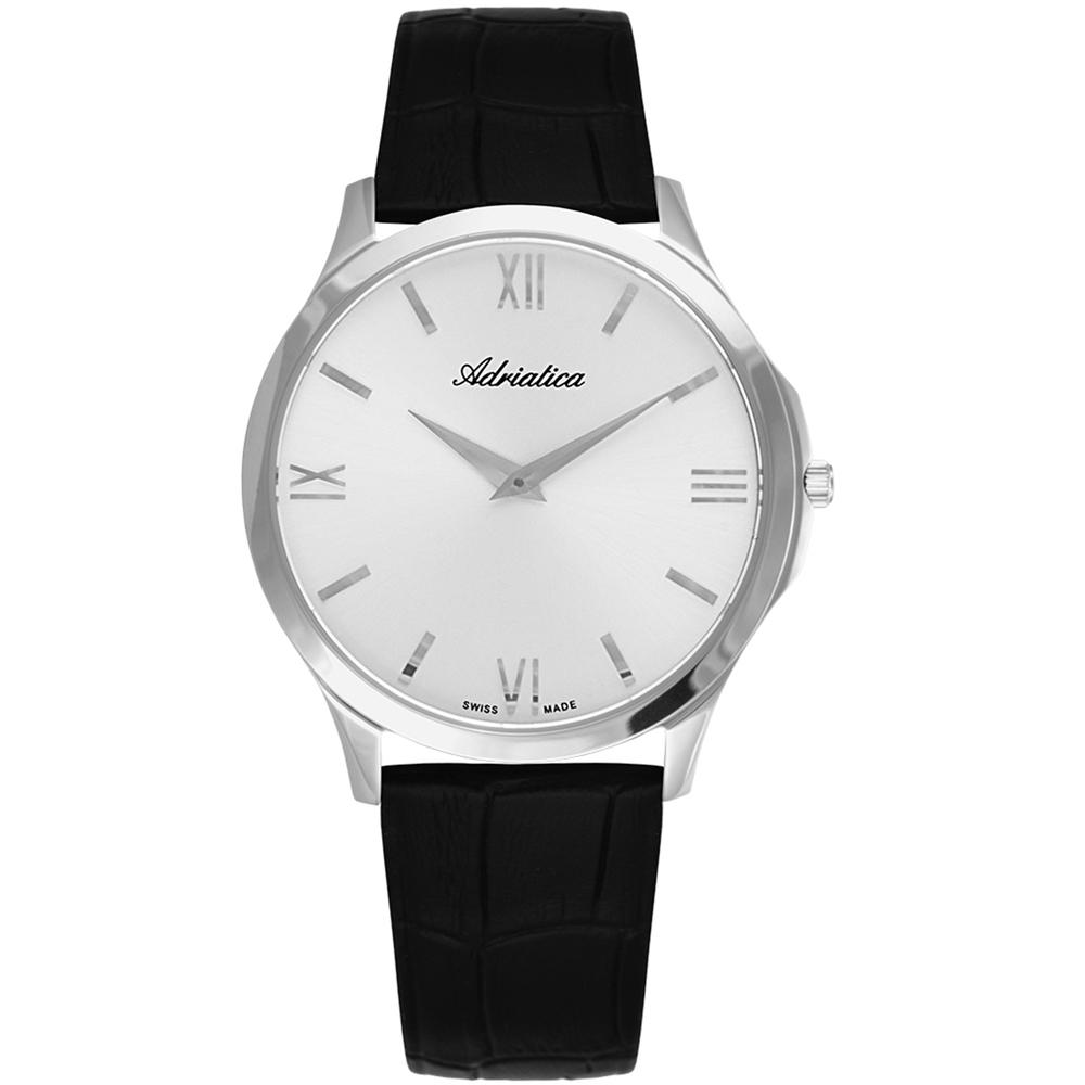 Фото «Мужские часы A8241.5263Q на кожаном ремешке с сапфировым стеклом»
