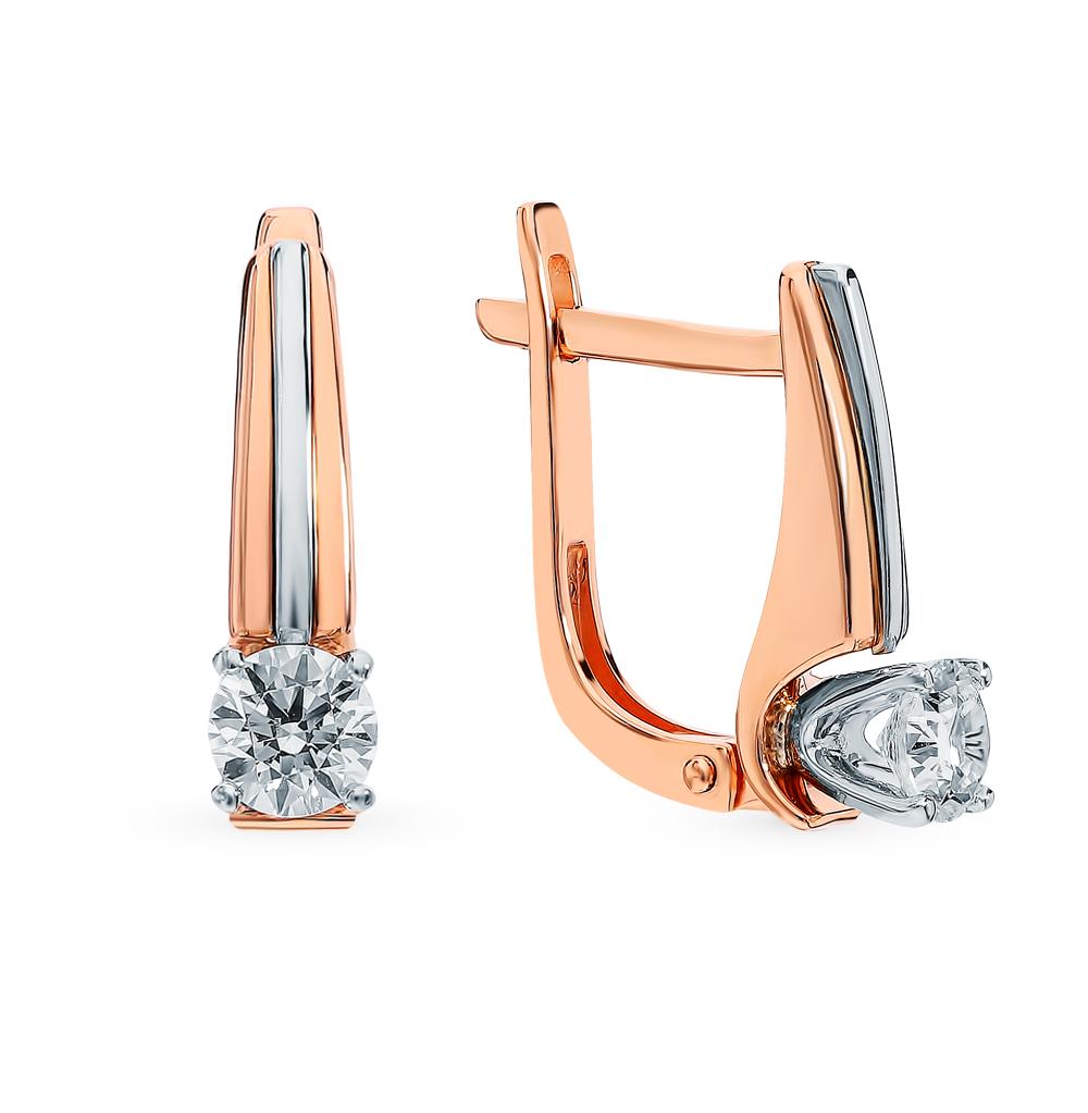 Золотые серьги «Бриллианты Якутии» в Екатеринбурге
