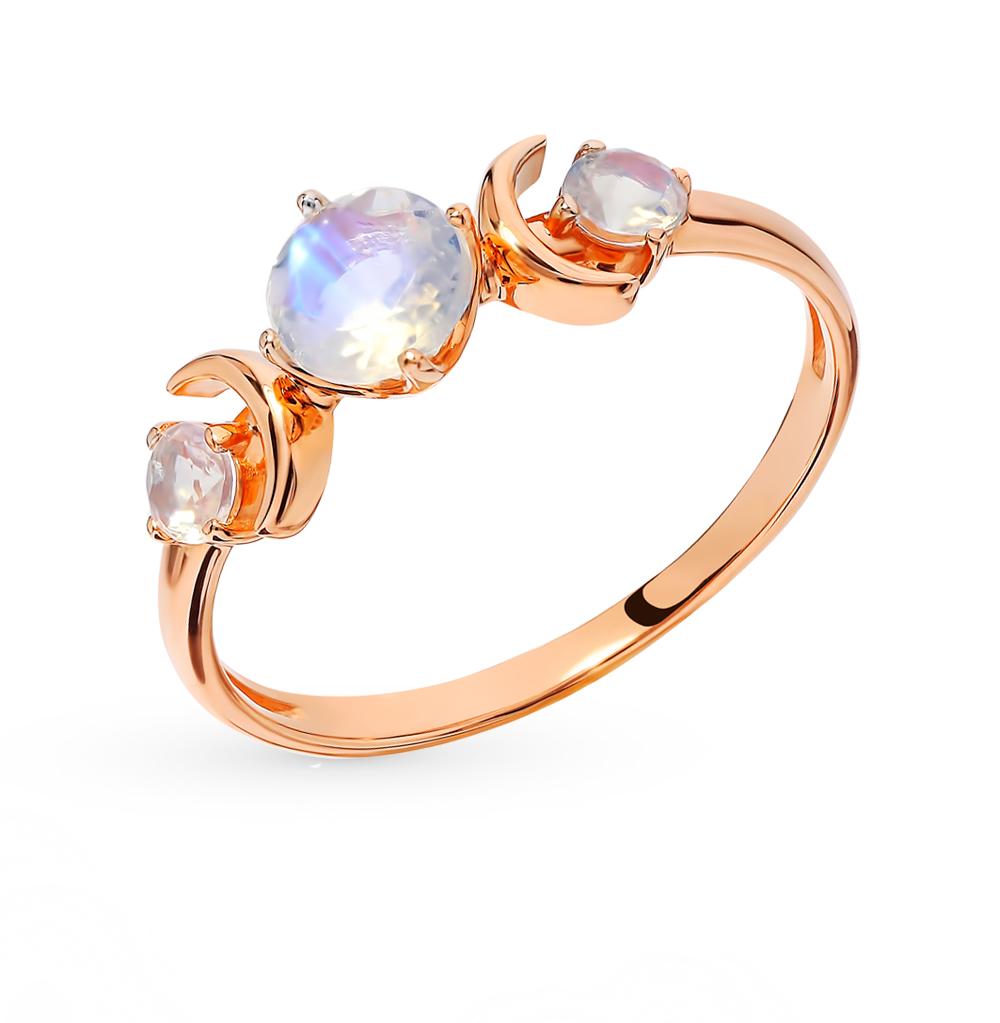 Фото «Золотое кольцо с лунными камнями»