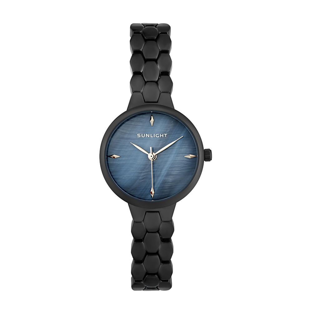 Женские часы с перламутром на металлическом браслете в Екатеринбурге