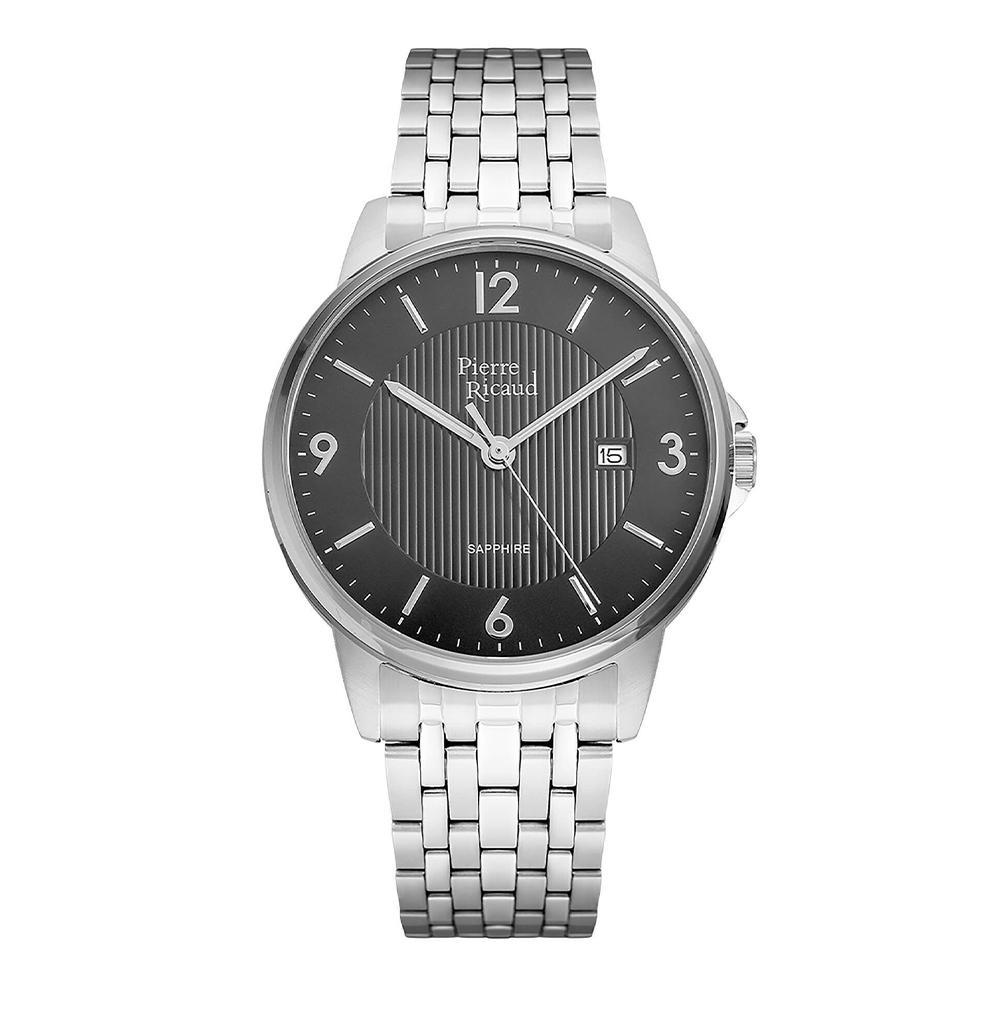 Фото «Мужские кварцевые часы P60021.5156Q на стальном браслете с сапфировым стеклом»