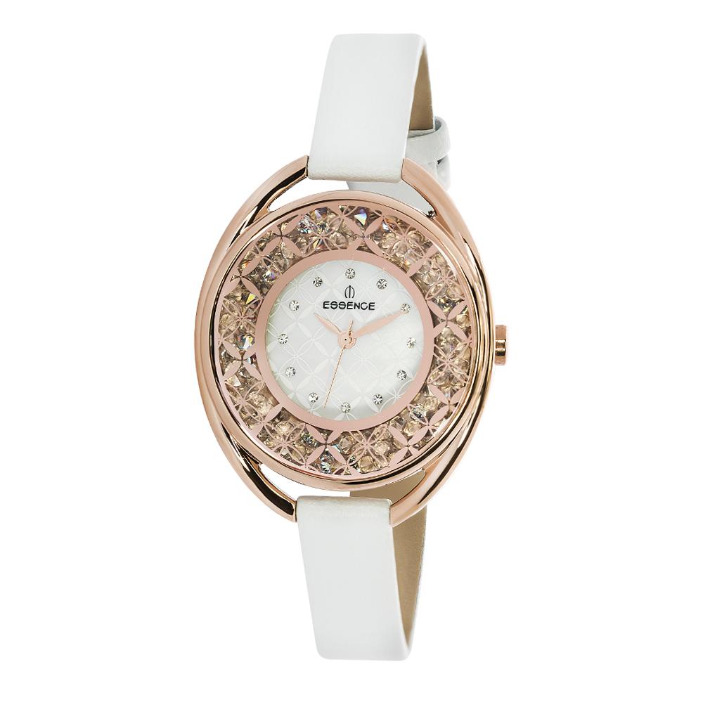 Женские часы D941.422 на кожаном ремешке с минеральным стеклом