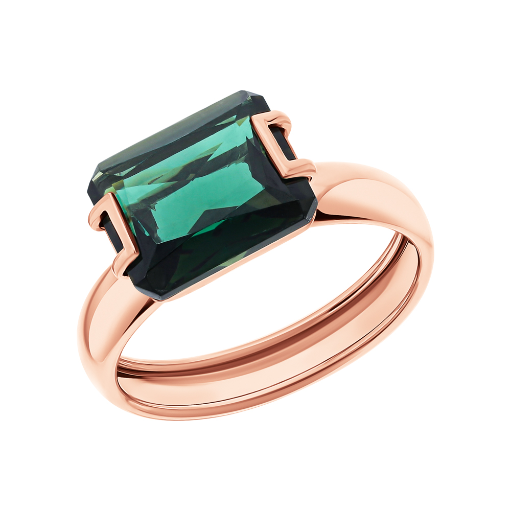 Фото «Золотое кольцо с турмалинами»