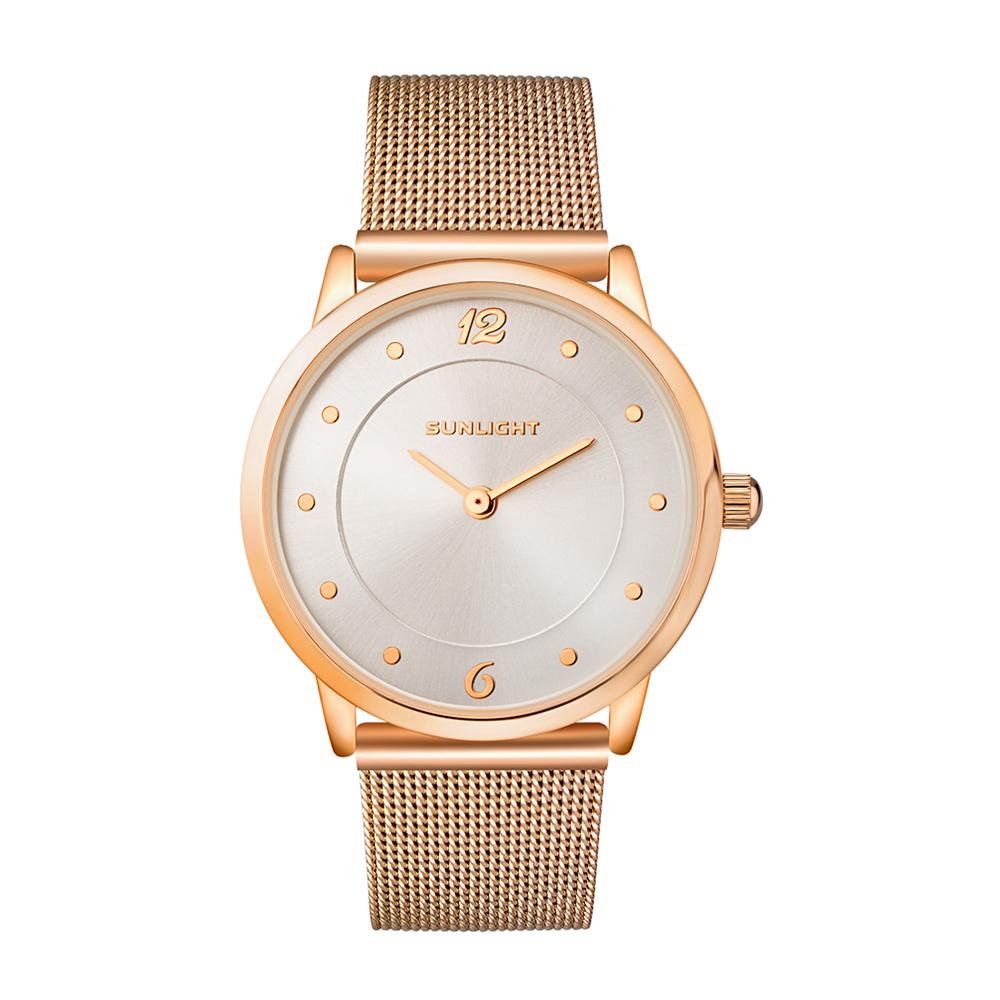 Тонкие женские часы на миланском браслете в Екатеринбурге