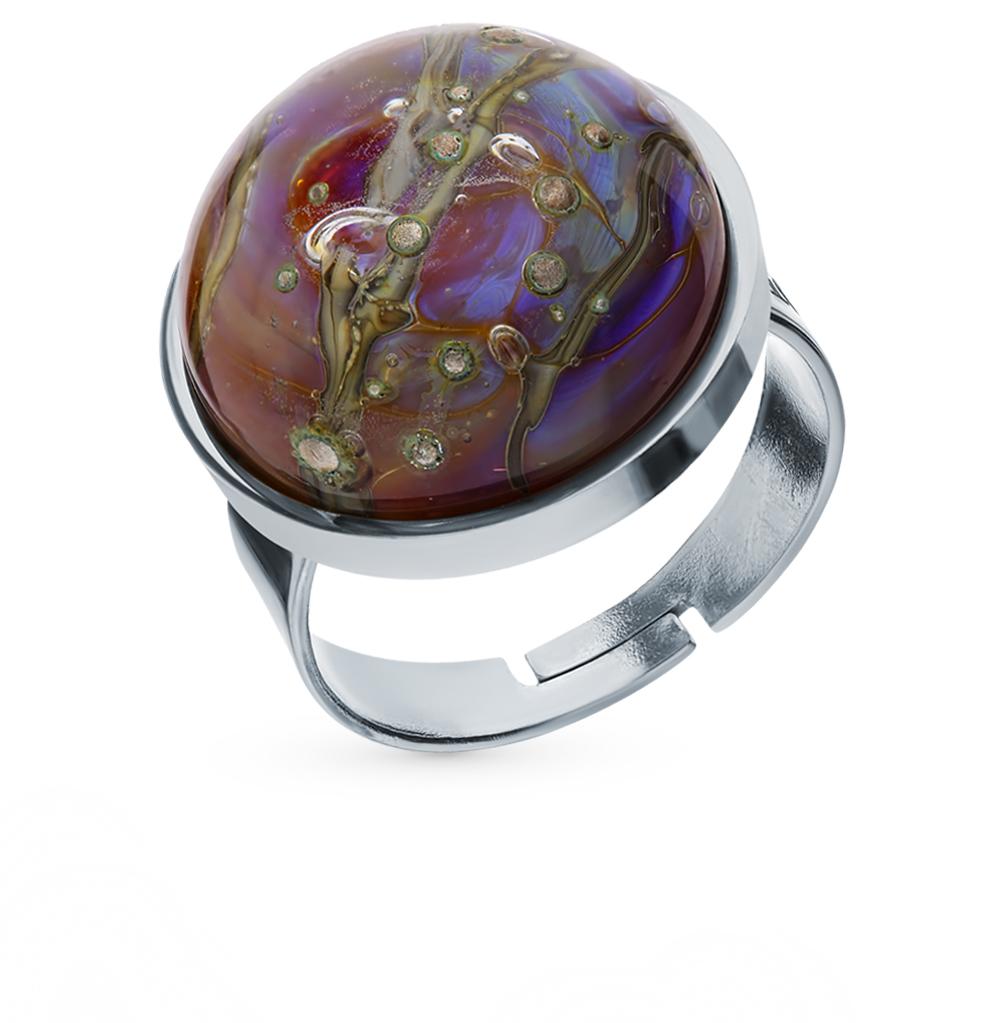 кольцо с муранским стеклом