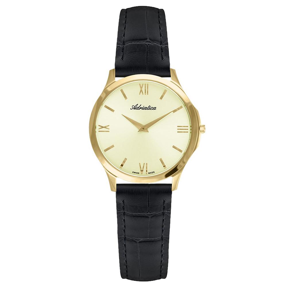 Фото «Женские часы A3141.1261Q на кожаном ремешке с сапфировым стеклом»