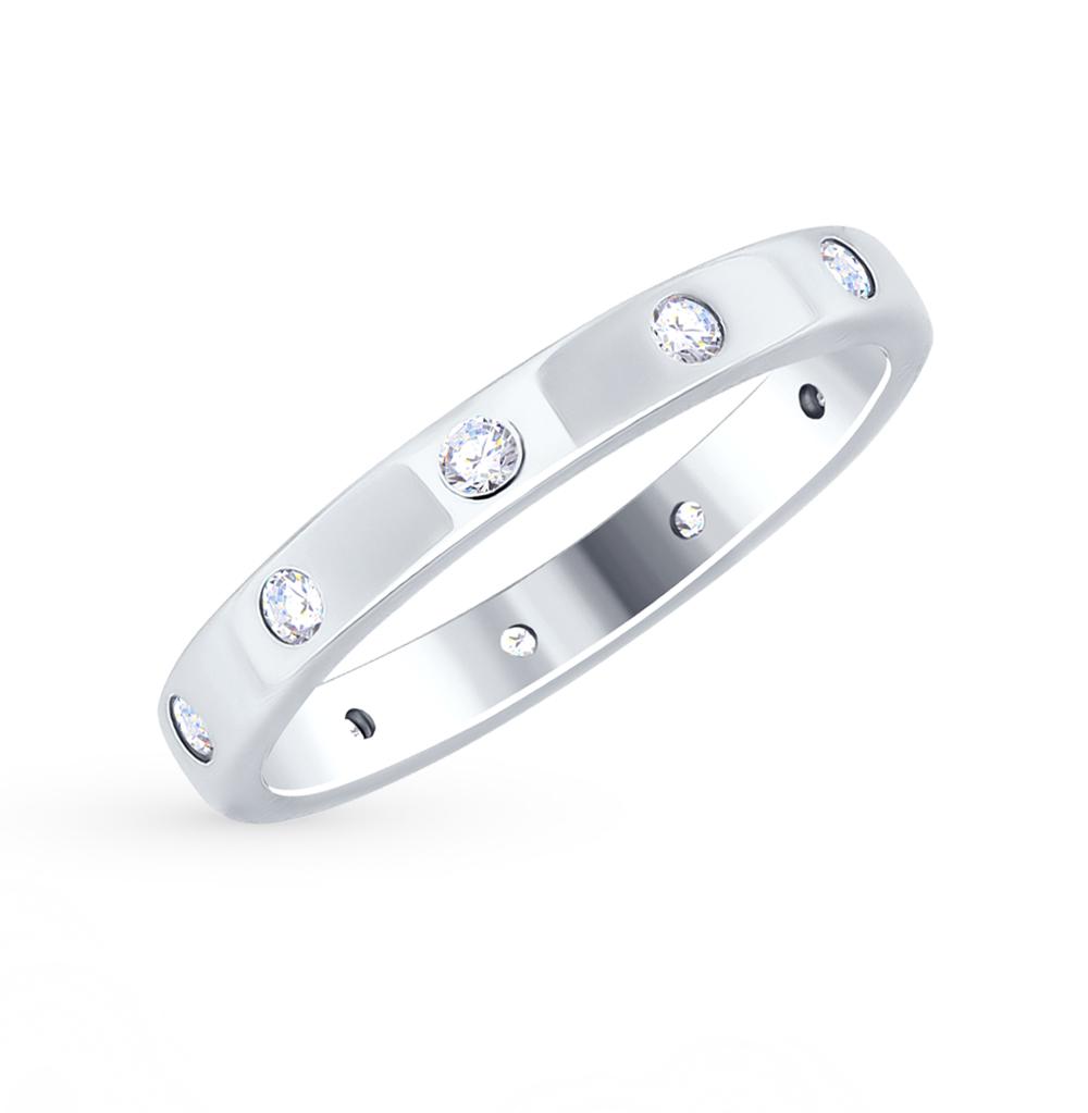 Фото «Серебряное кольцо с фианитами SOKOLOV 94012490»