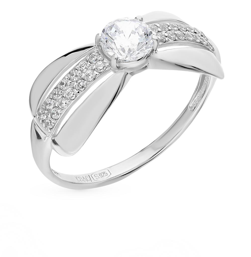 Фото «Серебряное кольцо с фианитами SOKOLOV 94011470»