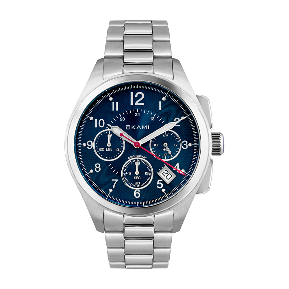 Мужские часы с хронографом на стальном браслете в Санкт-Петербурге