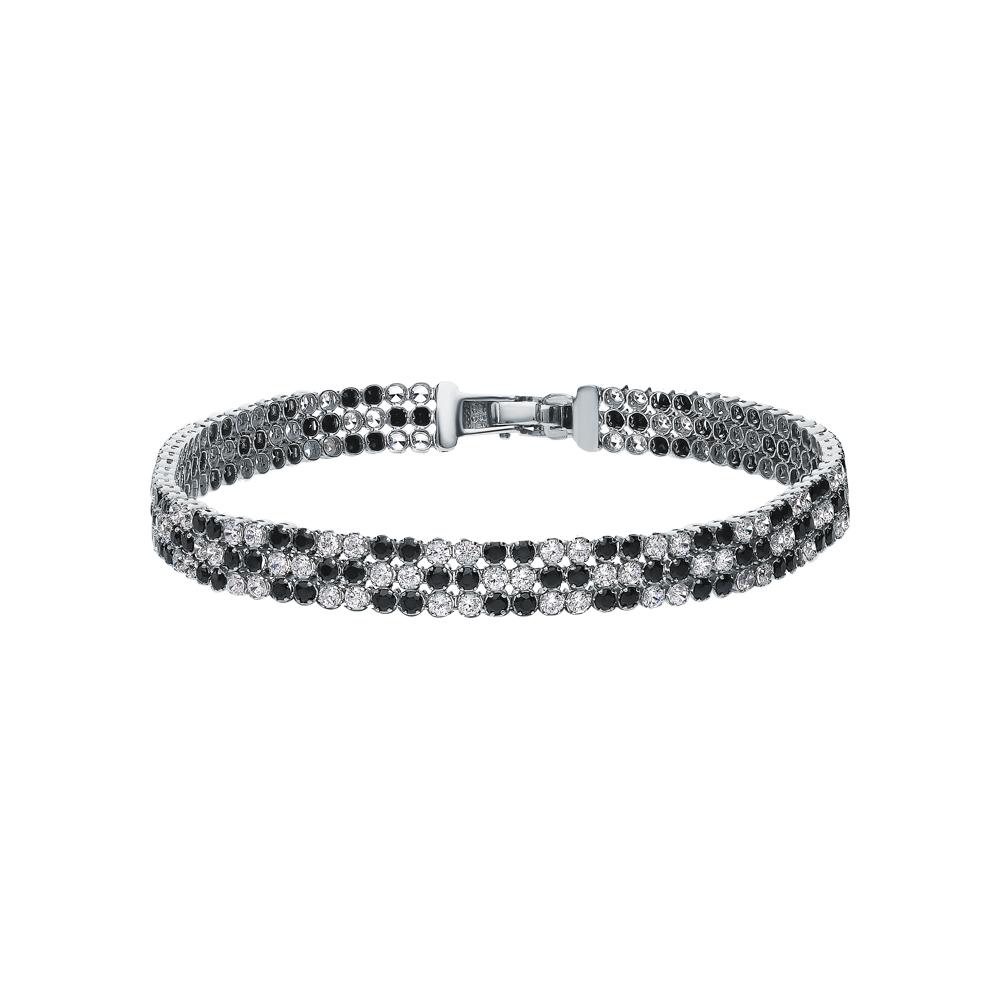 Фото «Серебряный браслет с кубическими циркониями»