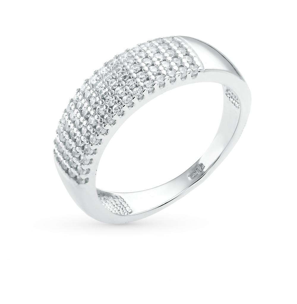 Фото «Серебряное кольцо с фианитами SOKOLOV 94011537»