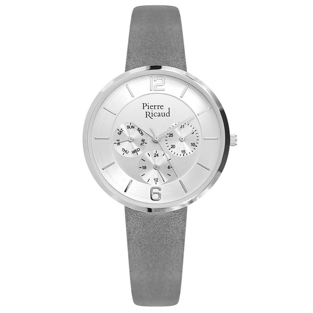 Фото «Женские кварцевые часы P22023.5G53QF на кожаном ремешке с минеральным стеклом»