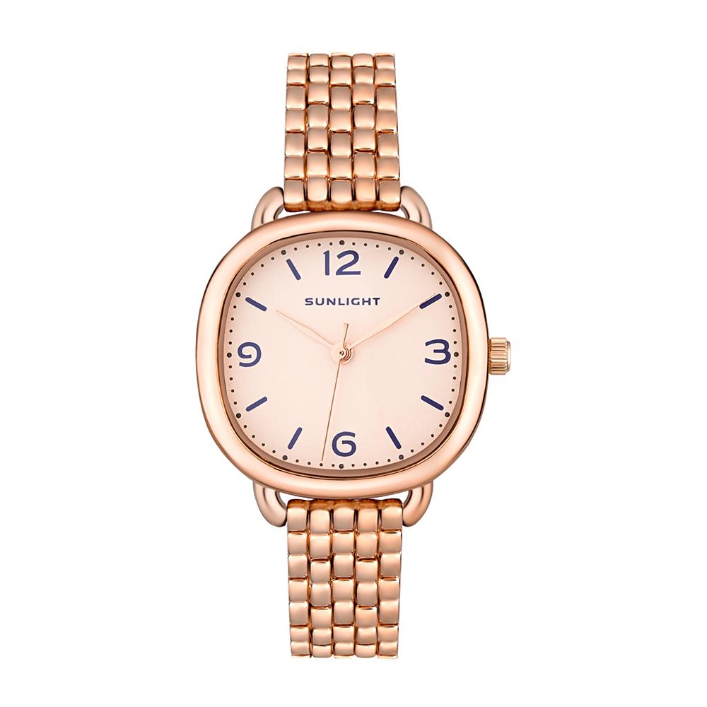 Фото «Классические женские часы на металлическом браслете»
