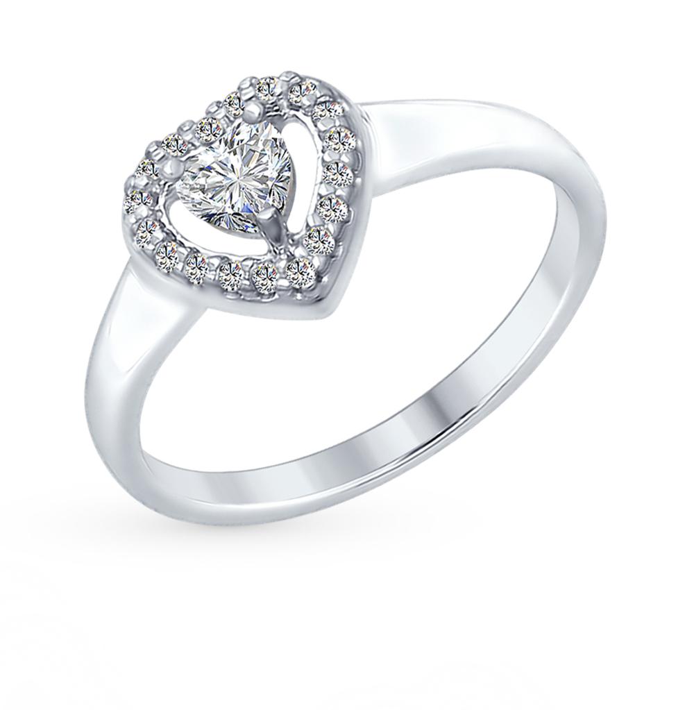 Фото «Серебряное кольцо с фианитами SOKOLOV 89010068»