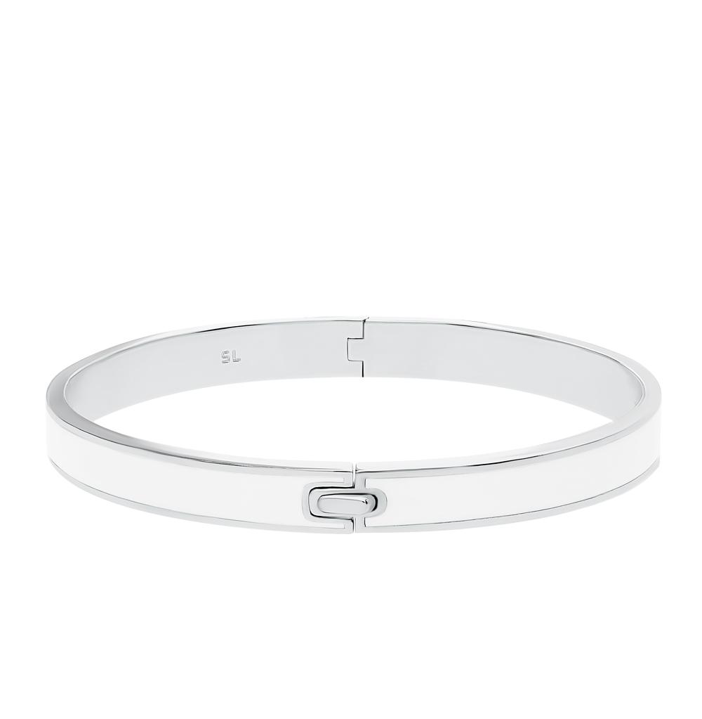 серебряный браслет с эмалью