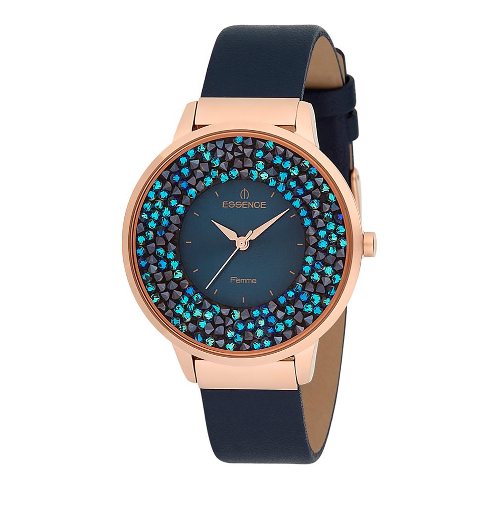 Фото «Женские часы D908.477 на кожаном ремешке с минеральным стеклом»