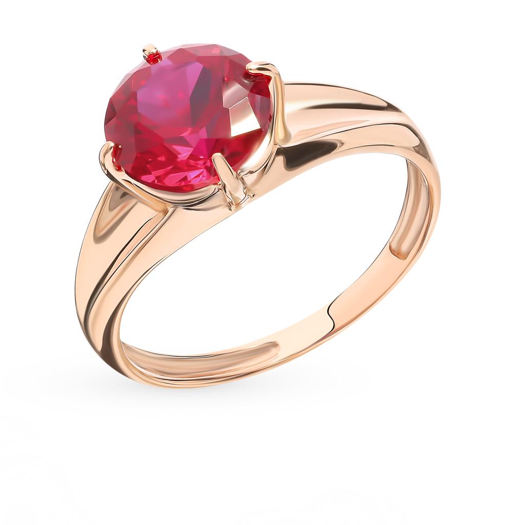 Золотое кольцо с рубином в Екатеринбурге