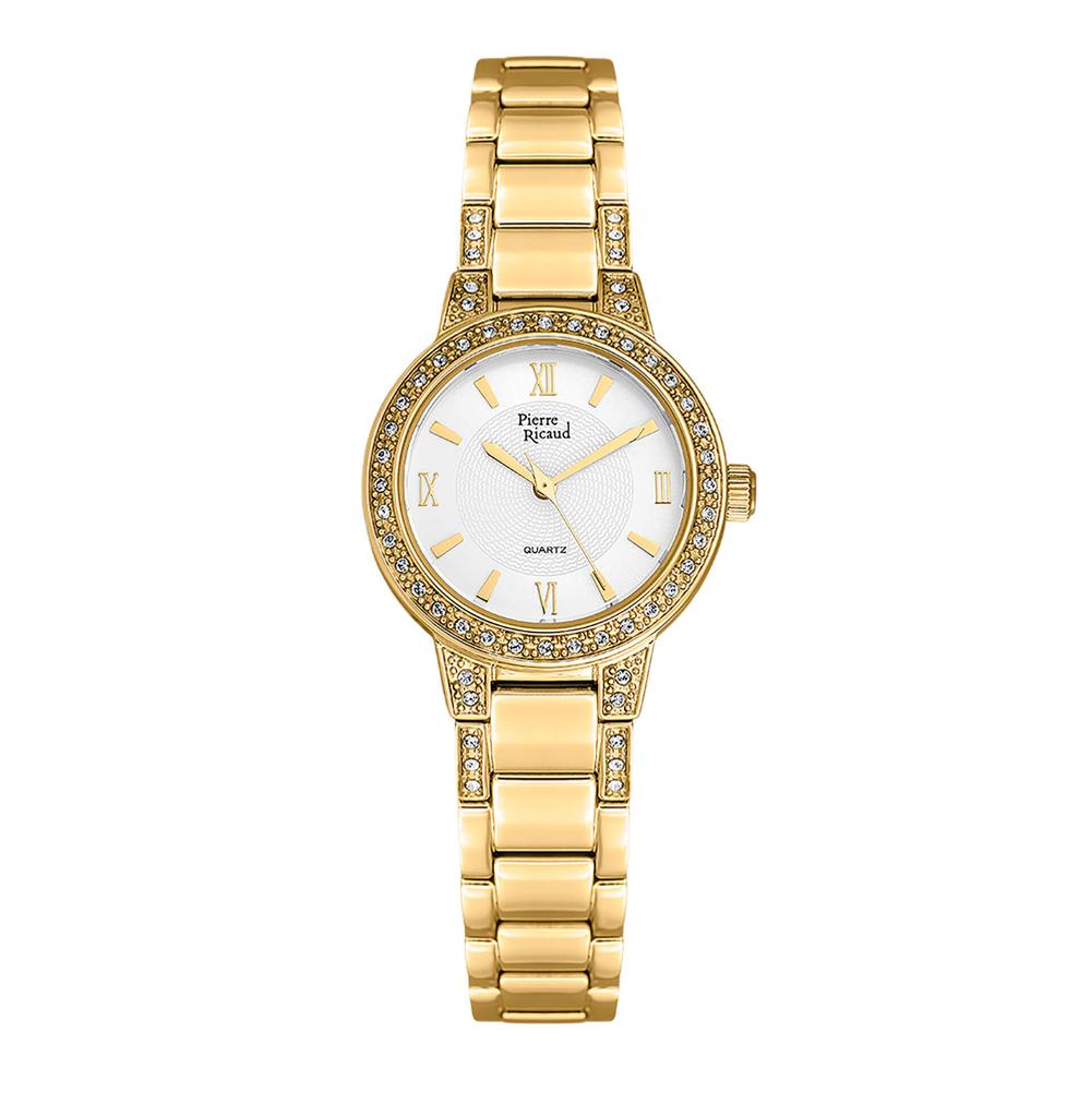 Фото «Женские кварцевые часы P21074.1163QZ на стальном браслете с минеральным стеклом»