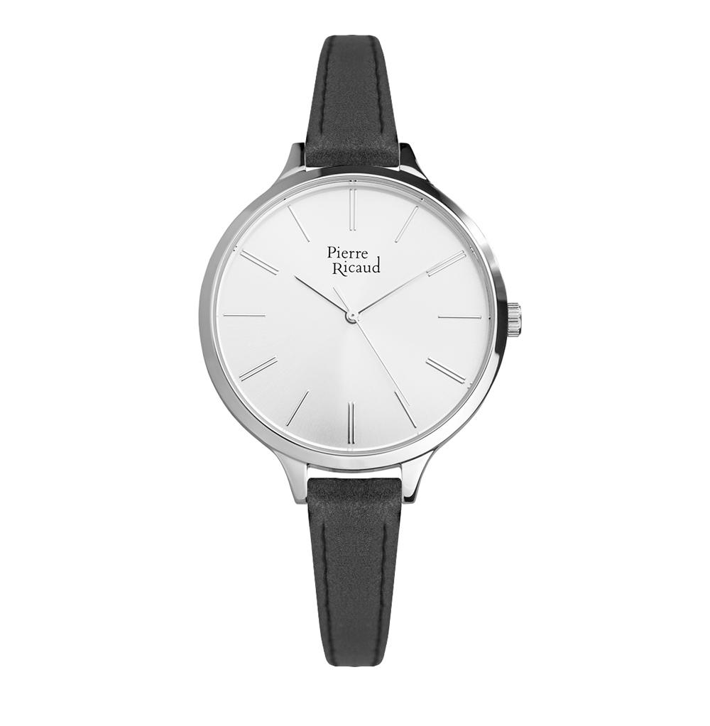 Женские часы P22002.5U13Q на кожаном ремешке с минеральным стеклом