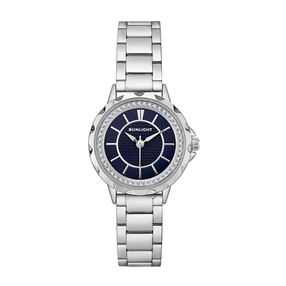 Фото «Женские часы на металлическом ремне»