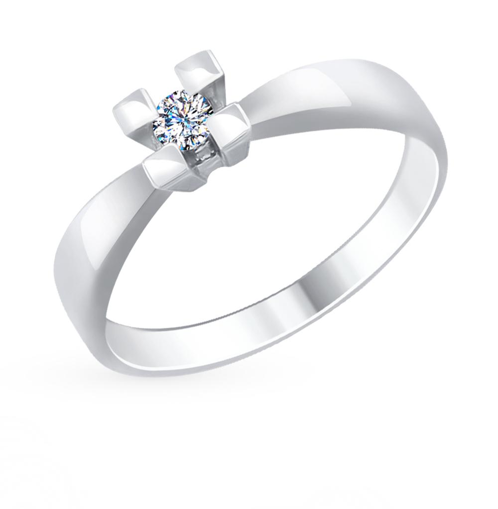 золотое кольцо с бриллиантами SOKOLOV 1011676