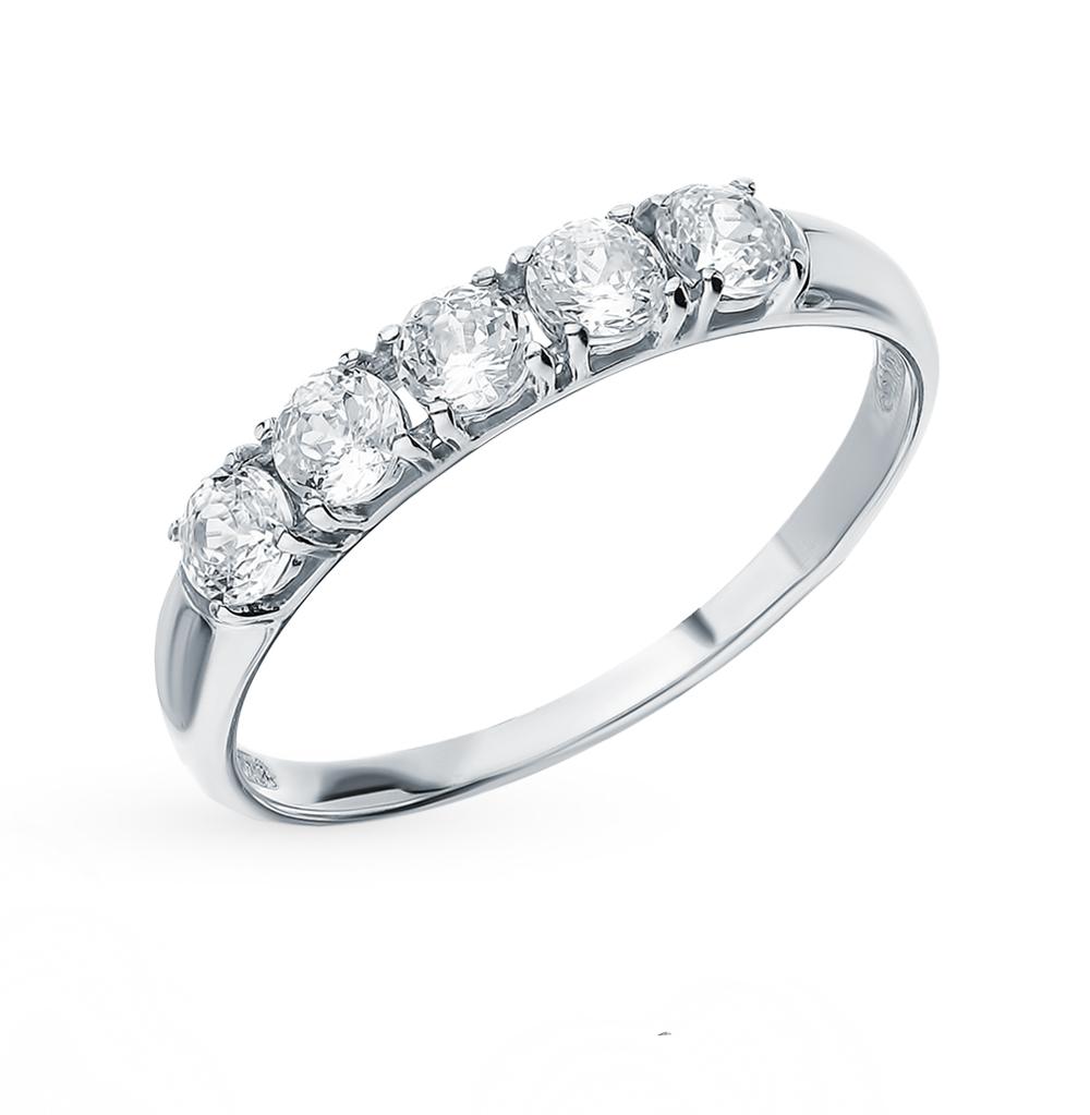 Золотое кольцо с фианитами SOKOLOV 81010282* в Санкт-Петербурге