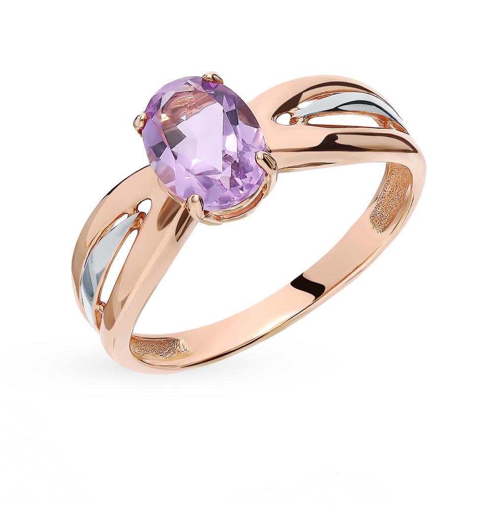 Золотое кольцо с аметистом в Санкт-Петербурге